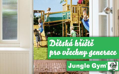 Dětská hřiště Jungle-gym.cz