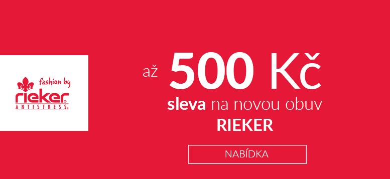 Obuv Rieker do neděle se slevou až 500 Kč