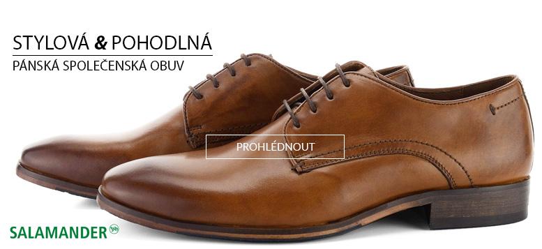 Pánská stylová a pohodlná společenská obuv 45ada72e29