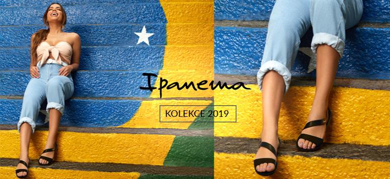 Nová kolekce dámské letní obuvi Ipanema