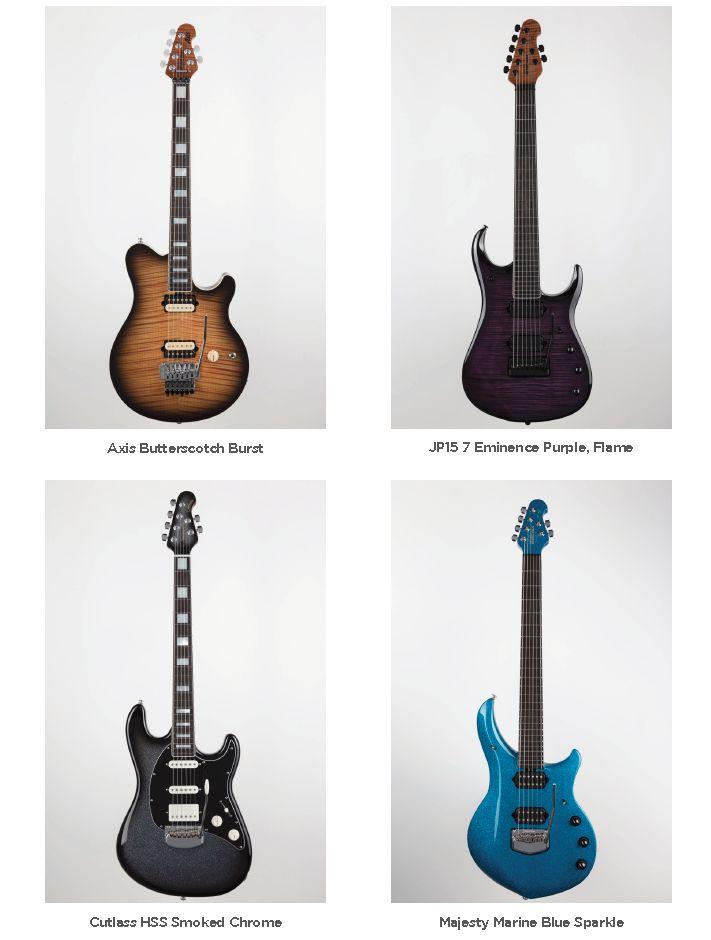 MusicMan BFR kytary pro leden 2019