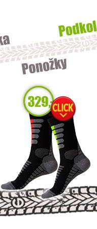 Moto ponožky se stříbrem