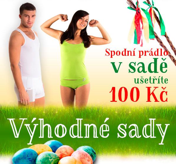 Spodní prádlo v sadě - ušetříte 100 Kč!