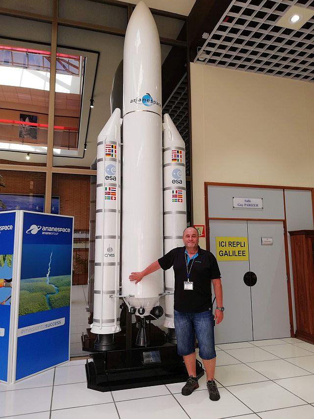 ESA středisko ve Francouzské Guyaně