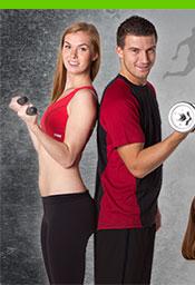 Antibakterialni fitness obleceni.