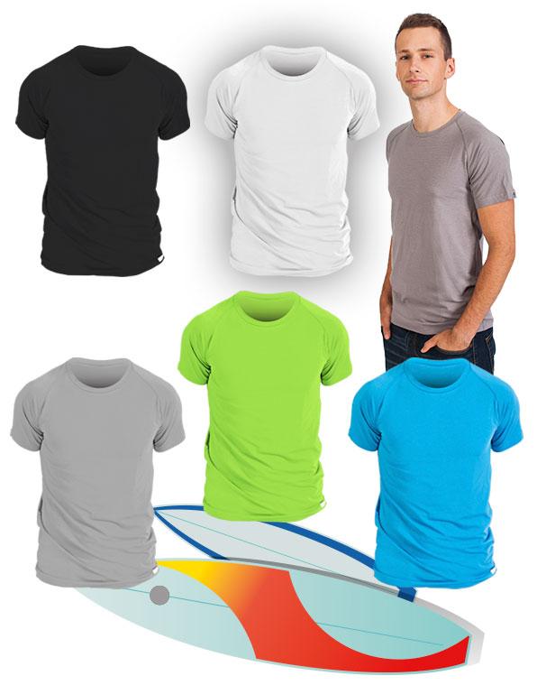 BAREVNÉ bavlněné pánské tričko classic