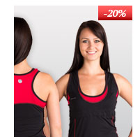 Dámské sportovní tričko s vsadkou - prodloužený střih
