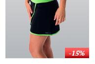 Dámská sportovní sukně s všitými šortkami