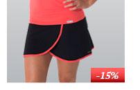 Dámská sportovní sukně s všitými nohavičkovými kalhotkami