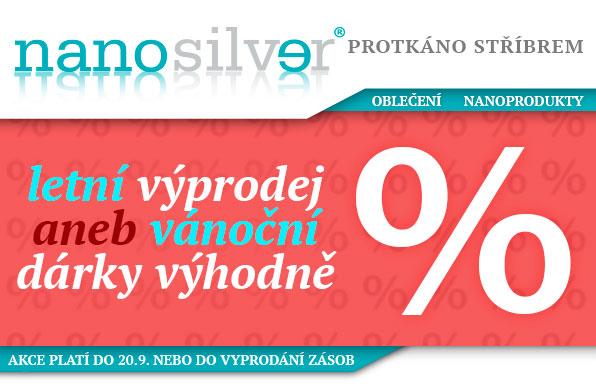 www.nanosilver.cz - letní výprodej aneb vánoční dárky výhodně
