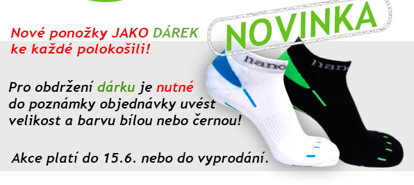Novinka - nízké ponožky nanosilver - jako dárek ke každé polokošili.