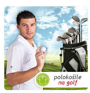 Antibakteriální polokošile nanosilver na green. Hrajte golf v pohodlném oblečení s coolmaxem!