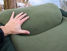 Objemný polštář