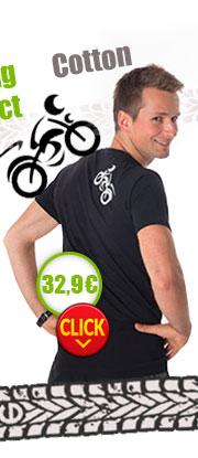 Gents' T-shirt nanosilver CLASSIC imprinted MOTO