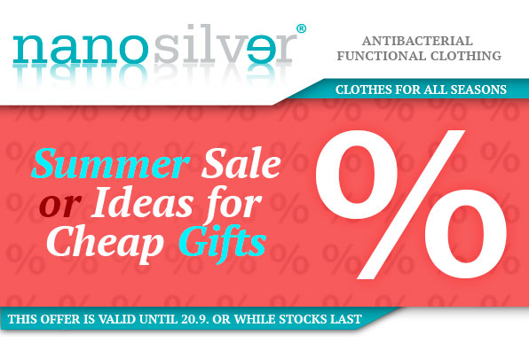 www.nanosilver.eu - Summer Sale or Ideas for Cheap Gifts