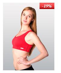 Ladies' sports bra nanosilver CLASSIC