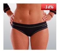 Ladies' panties nanosilver coolmax DAKAR with stitching