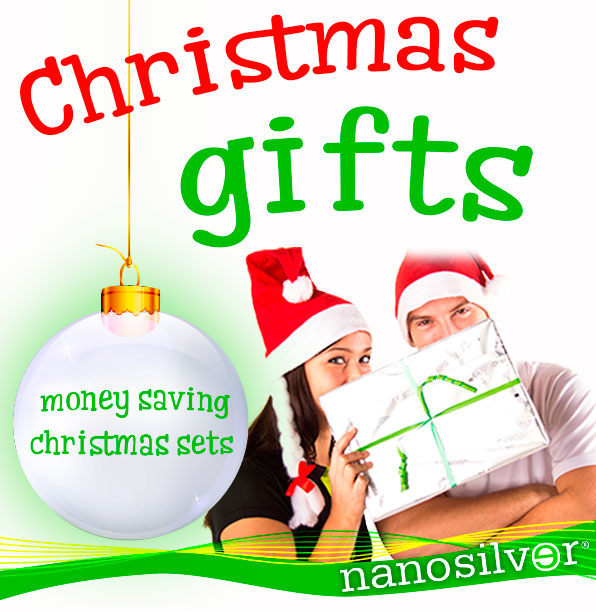 Christmas gifts from nanosilver!