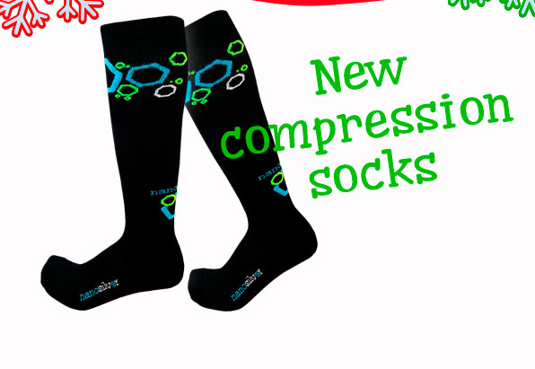 New compression socks for women and men!