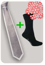 Christmas gifts, Magic tie + formal socks