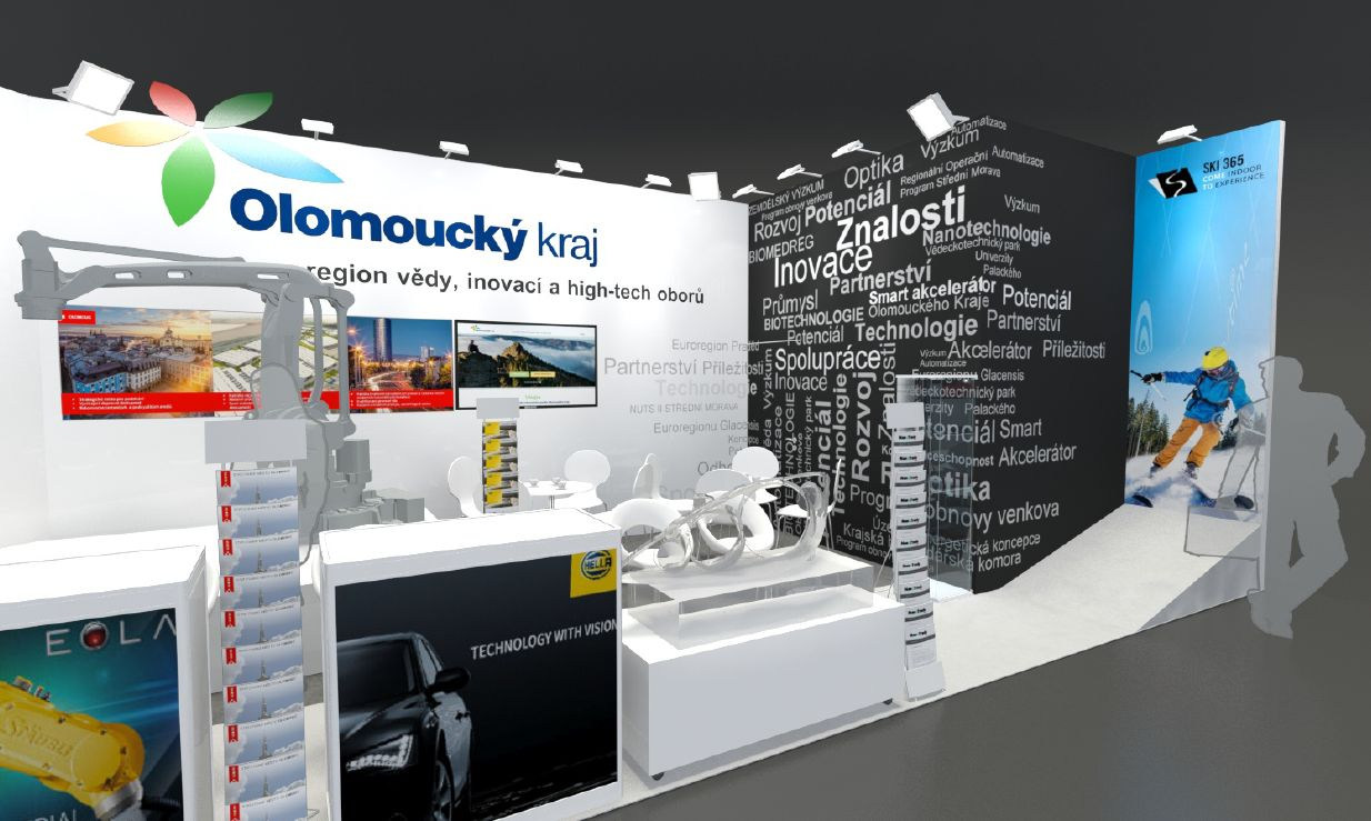 booth at the MSV 2018 in Brno