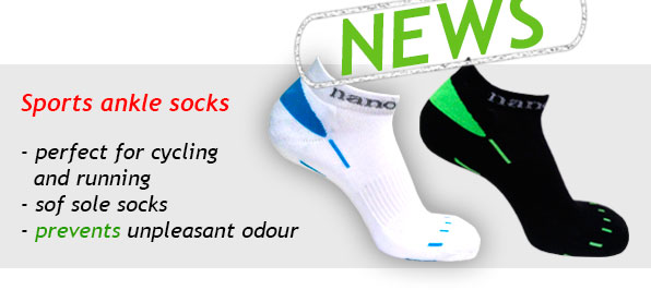 News - Sports ankle socks