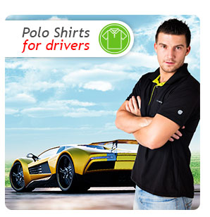 Polo Shirts for drivers