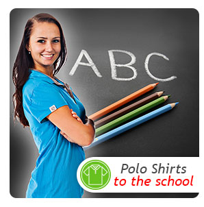 Polo Shirts to the school