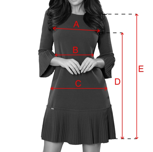 Dámské šaty Numoco rozměry