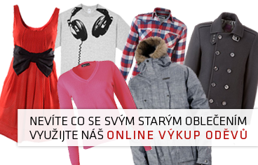 Nevíte co se svým starým oblečením? Využijte náš online výkup.