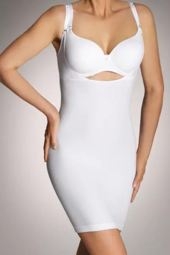 Stahovací šaty ELDAR Vika bílé