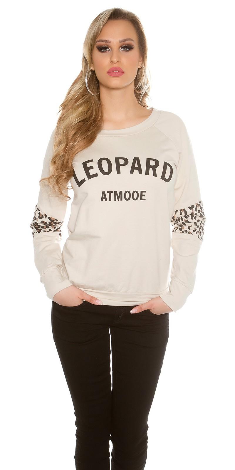 Dámská mikina leopard