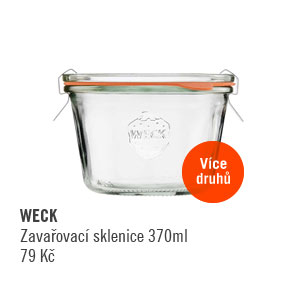 Zavařovací sklenice Weck 370 ml
