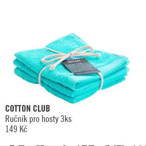 Ručník pro hosty 3 ks Cotton Club