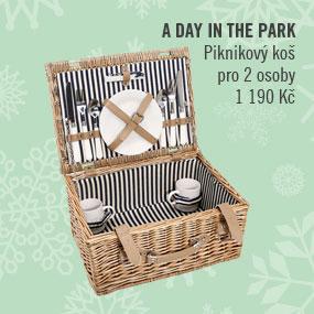 A DAY IN THE PARK Piknikový koš pro 2 osoby