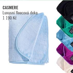 CASMERE TOUCH Fleecová deka