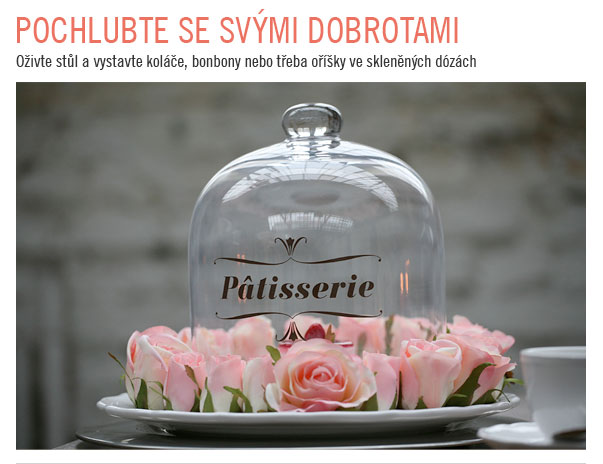 Skleněné dózy na Butlers.cz. Oživte stůl a vystavte koláče, bonbony nebo třeba oříšky ve skleněných dózách
