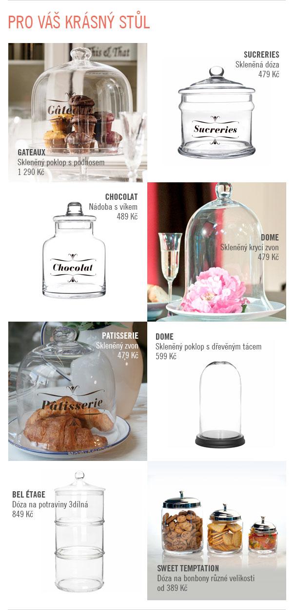 Skleněné nádoby na Butlers.cz pro váš krásný stůl