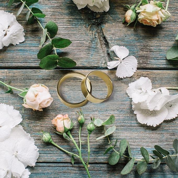 Svatební prsteny žluté zlato - KLENOTA