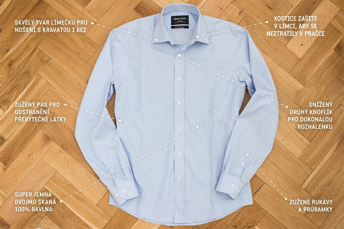 Příběh košil John   Paul - Gentleman Store d8092681fb