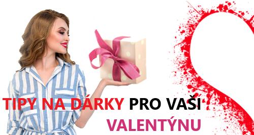 Dárky k valentýnu pro vaši Valentýnku