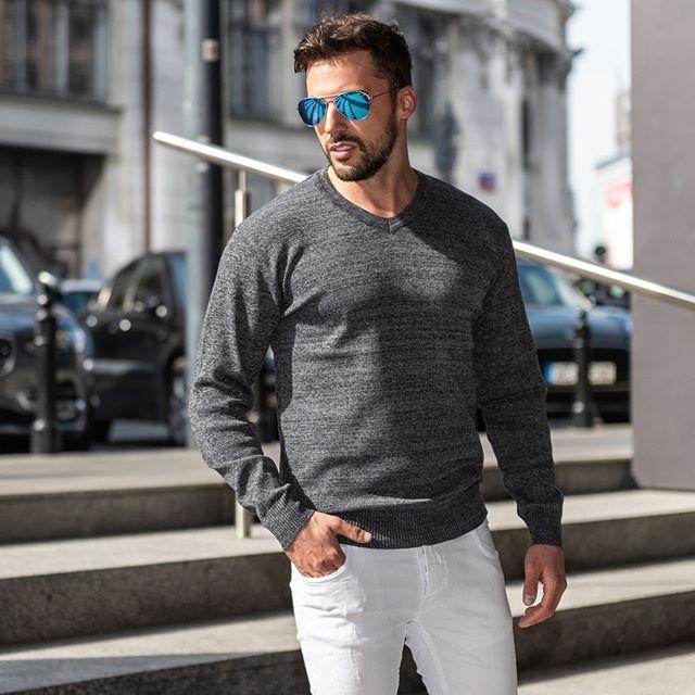 mestský trendy jarný outfit
