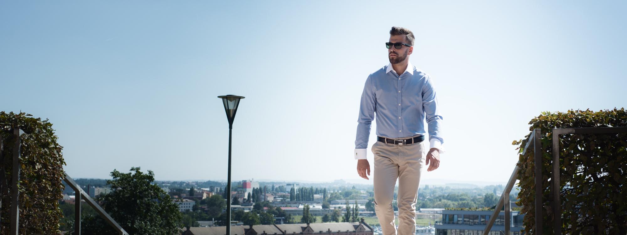 Luxusní pánské košile