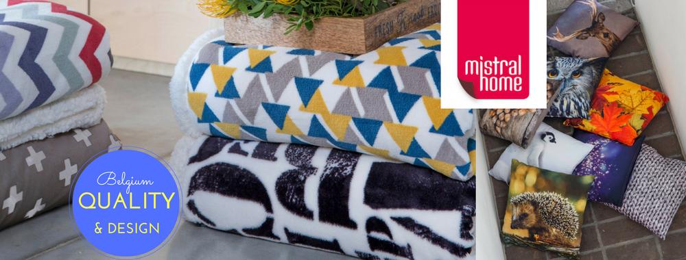 Mistral home deky a polštářky