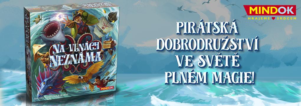 Na vlnách neznáma - pirátská hra