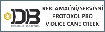 Reklamační protokol pro vidlice Cane Creek