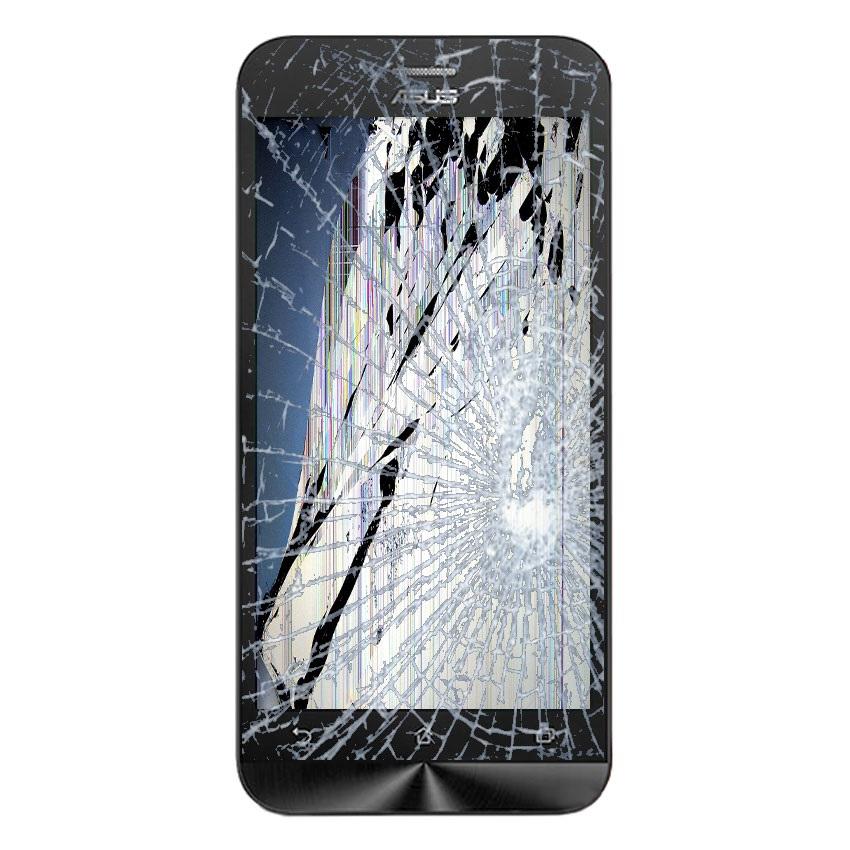 Rozbitý telefon Asus Zenfone 2 ZE500CL