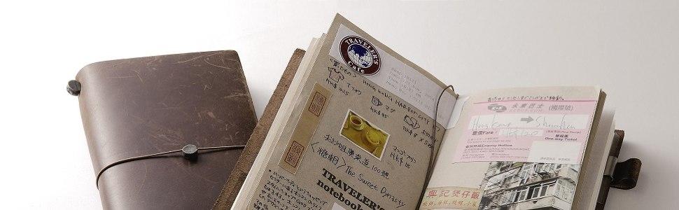Midori Traveller's Notebook