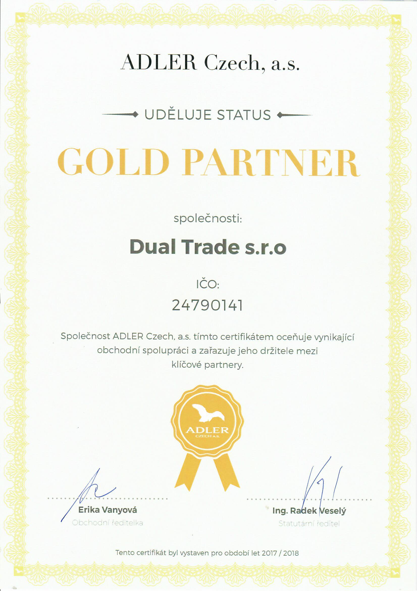 Adler Gold Partner