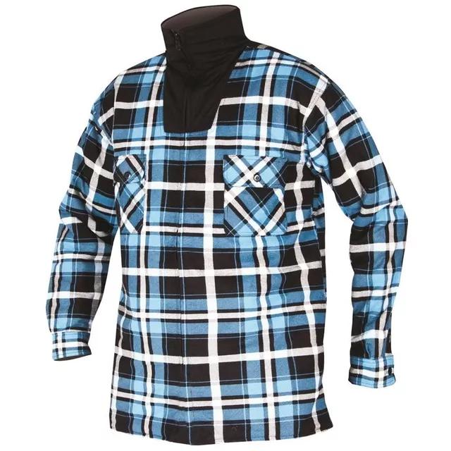 Zimná flanelová košeľa